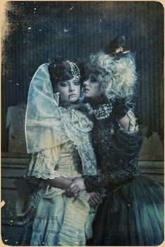 Vampire Chronicles by Katarzyna Widmanska, via Behance