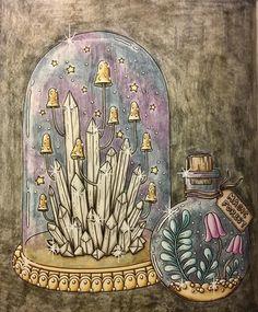 En till från #magiskgryning #magiskgryningmålarbok #hannakarlzon #målarbokförvuxna #coloring #coloringforadults