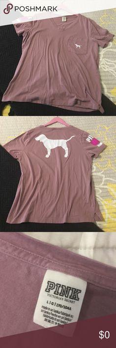 Vs pink shirt Vs pink shirt Tops Tees - Short Sleeve