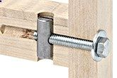 Cross-dowel drill jig. #WoodworkJoiningMethods
