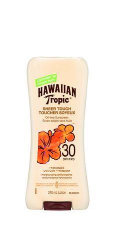 Hawaiian Tropic® SPF 30 Sheer Touch Sunscreen Lotion | Walmart.ca