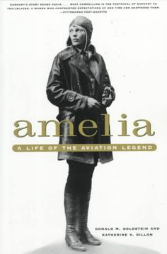 Amelia Earhart is the first woman to fly solo across the United States.  From Kansas
