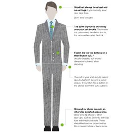 Professional Dress for Men | Dress for the Interview » Center for Career Development | Boston ...