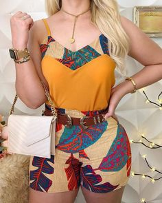 Ladies Summer Spaghetti Strap Print Tops And Shorts Sets Casual Women Sleeveless Sexy 2 Piece Sets Club Outfits African Attire, African Wear, African Dress, African Style, African Women, Latest African Fashion Dresses, African Print Fashion, Ankara Fashion, Africa Fashion