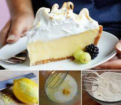 Лимонная Меренга Рецепт Пирог С Заварным Кремом Обучающее Видео