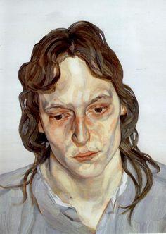 Head of a Girl, 1975-1976  Lucian Freud