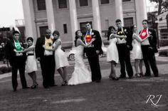 Superhero Themed Wedding :)