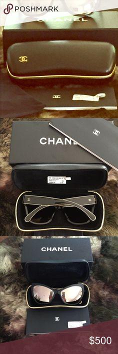 ee18c81e1682d AUTHENTIC CHANEL CAT EYE SUNGLASSES Authentic Chanel Sunglasses. Never been  worn. Includes box