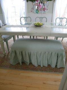linen slipcover in mist blue
