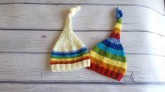 Newborn rainbow hat, rainbow newborn photo props Newborn Photo Props, Newborn Photos, Monogram Hats, Newborn Beanie, Elf Hat, Personalized Baby Gifts, Rainbow Baby, Newborn Gifts, Baby Hats