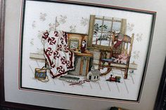"""""""Memories Of Christmas"""" a cross stitch pattern by Paula Vaughan."""