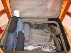 How to pack your suitcase/carry on