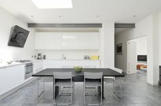 Tavistock Terrace, Tufnell Park, London — The Modern House Estate Agents: Architect-Designed Property For Sale in London and the UK Industrial Chic Style, Industrial Bedroom, Industrial House, Modern Industrial, Tavistock, Kensington And Chelsea, Property For Sale, Terrace, Living Spaces