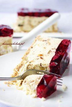 Polish Desserts, Cookie Desserts, Bakery Recipes, Dessert Recipes, Cooking Recipes, Lemon Cheesecake Recipes, My Dessert, Special Recipes, Homemade Cakes