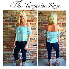 www.theturquoiseroseboutique.com Instagram: @the_turquoise_rose_btq The Turquoise Rose