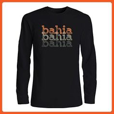 Idakoos - Bahia repeat retro - Cities - Long Sleeve T-Shirt - Retro shirts (*Partner-Link)