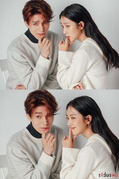 이 조합, 저만 설레요?♥ | 1boon Lee Dong Wook Photoshoot, Korean Couple Photoshoot, Korean Drama Stars, Korean Drama Best, Hyun Jae, Lee Hyun, Lee Dong Wok, Korean Girl Photo, Kim Bum