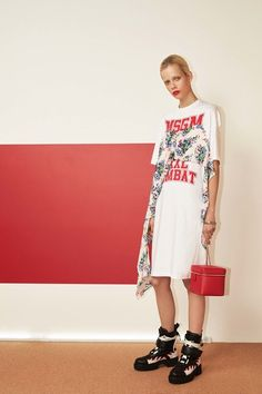MSGM - Pre Spring/Summer 2017 Ready-To-Wear