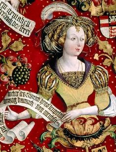 1489-1492 Hans Part. Babenberg Family Tree  Constantia, Gattin Markgraf Heinrichs des Erlauchten von Meissen