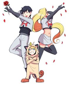 Sai, Ino and Inojin × Team Rocket Naruto And Sasuke, Naruto Pokemon, Anime Naruto, Naruhina, Ino Naruto Shippuden, Naruto Fan Art, Naruto Cute, Naruto Funny, Anime Manga