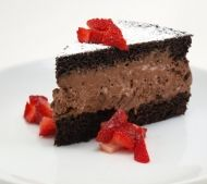 A deliciously indulgent recipe for Chocolate Mousse Cake that is sure to impress! And if you follow the instructions, its not at all difficult to make.