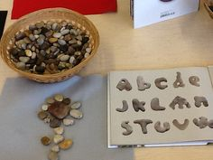 Art can be seen in everything. Let's make creations with rocks... Rock Pictures!!!