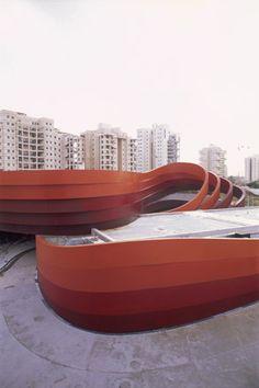 Design Museum, Holon by Ron Arad.