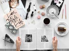 Dicas para criar fotos flatlay para o Instagram 012