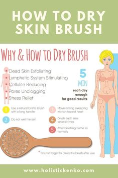 Dry Skin Brushing Instruction Guide & Skin Health Benefits is part of fitness - Dry brushing your skin affects your lymphatic system and benefits your health It detoxifies your skin and aids in the removal of stretch marks & cellulite Health And Beauty, Health And Wellness, Health Tips, Health Benefits, Lettering For Beginners, Dry Brushing Skin, Dry Skin, Dry Brushing Benefits, Dry Brushing For Cellulite