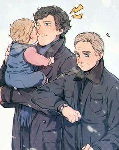 I need season 5,6,7,...20 so I can see Sherlock holding a baby. And liking it.