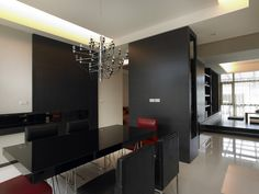 Lounge, Studio, Modern, Conference Room, Kitchen Cabinets, Table, Design, Furniture, Home Decor