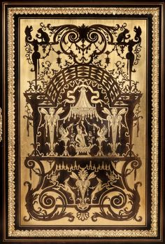 Andres-Charles Boulle (1642 - 1732) ,A Magnificent Antique Boulle Side Cabinet of Exhibition Quality