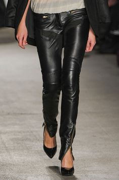 Leather. Leather. x