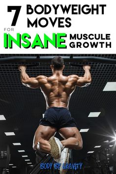 Bodybuilding How to grow muscle with these 7 bodyweight moves Muscle Mass, Gain Muscle, Build Muscle, Muscle Building, How To Grow Muscle, Pilates Training, Body Weight Training, Ways To Lose Weight, How To Stay Healthy