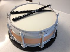 the snare drum cake... sweet mary's. new haven. ct
