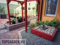 * Csináld magad kertépítés * Patio, Garden, Outdoor Decor, Modern, Home Decor, Garten, Trendy Tree, Decoration Home, Room Decor