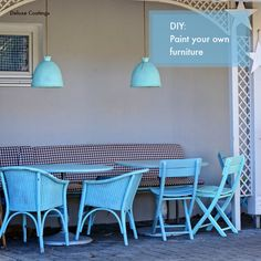 Save your old patio / deck furniture from rotting, give it a new lease of life. Paint it yourself. Follow our blogs this month to know how. www.deluxecoatings.co.au/blog
