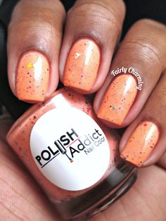I have a quick swatch post for you today featuring 2 Halloween themed beauties from Polish Addict Nail Color. Halloween Themes, Trick Or Treat, Nail Colors, Addiction, Polish, Charmed, Treats, Nails, Sweet Like Candy