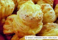 Extra sajtos-túrós pogi Hungarian Cuisine, Savory Pastry, Snack Recipes, Snacks, Scones, Nutella, Baked Goods, Bakery, Food And Drink