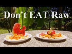 3 pretty logical and good reasons NOT to go on a 100% Raw food diet. No pressure folks! But it's damn good! :)    Watch and you know what I mean.