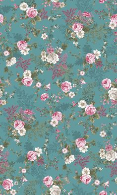 Juliet Roses by stoffabrics Floral Wallpaper Iphone, Vintage Flowers Wallpaper, Victorian Wallpaper, Flowery Wallpaper, Flower Background Wallpaper, Flower Backgrounds, Aesthetic Iphone Wallpaper, Pattern Wallpaper, Wallpaper Backgrounds