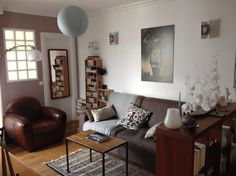 Apartment in Paris, France. A cosy nest in the heart of Paris, under the rooftops of a very calm residence, where your only disturbance will come from the noise made by the seagulls and the Jourdain Church bells. Very functional and with a lot of charm, this family apartment...