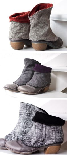 Merrybe from Etsy   shoe spats
