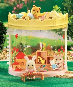 Take a look at this Baby Playroom Set by Calico Critter on #zulily today!