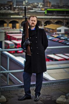 "short film ""Cleaning Up"" with Mark Gatiss"