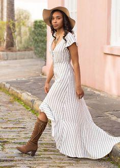 *NEW* Noemi Maxi in Stripe