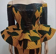 Top Ankara Skirt And Blouse for African Women 2019 – Eazy Vibe Africanstylesforladies - African Styles for Ladies Ankara Skirt And Blouse, Ankara Dress Styles, African Print Dresses, African Dresses For Women, African Attire, African Women, Blouse Styles, African Fashion Ankara, Latest African Fashion Dresses