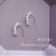 Ethnic Jewelry, Pearl Jewelry, Wire Jewelry, Beaded Jewelry, Handmade Accessories, Jewelry Accessories, Handmade Jewelry, Jewelry Design, Wire Earrings