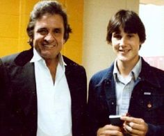 Chad Crow and Johnny in 1984