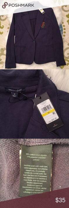 Women's Tommy Hilfiger blazer Women's NWT blazer. So preppy and cute! Size medium. Tommy Hilfiger Jackets & Coats Blazers